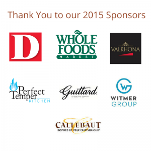 Thank You to our 2015 Sponsors3